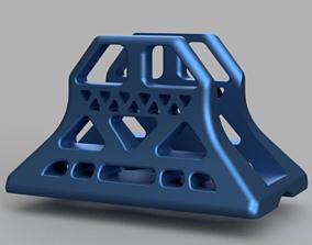 Optimal Air Flow Laptop Holder 3D print model