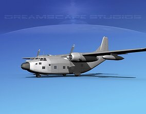 3D Fairchild HC-123B Provider