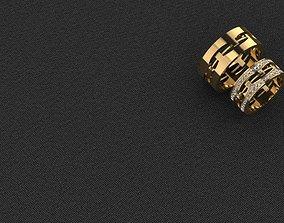 Wedding Ring precious 3D printable model