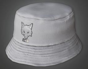 3D model HAT - Bucket Hat - PBR Game Ready
