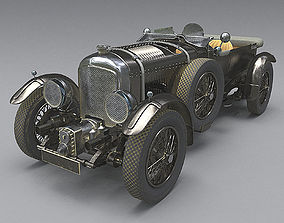 Bentley 4 5 litre Blower 1927 3d model antique PBR