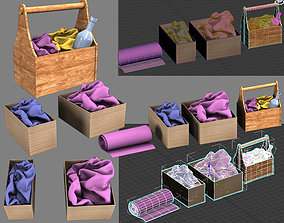 box with things 3D