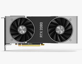 3D NVIDIA Geforce RTX 2080 Graphics Cards