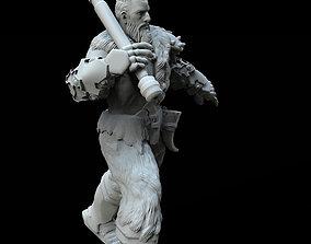 KING WARRIOR CONCEPT ZBRUSH 3D MODEL