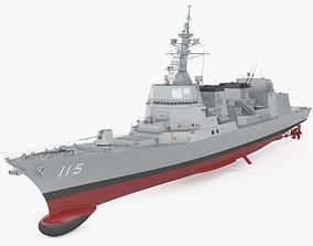 3D Akizuki-class destroyer