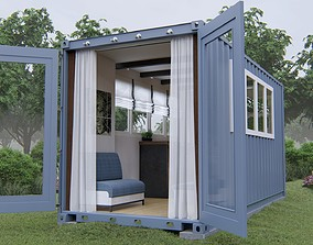 3D cargo-house Container House