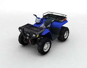 2007 Polaris Sportsman 800 ATV 3D model