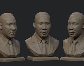 3D printable model Martin Luther King Jr