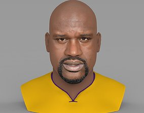 Shaq ONeal bust ready for full color 3D printing