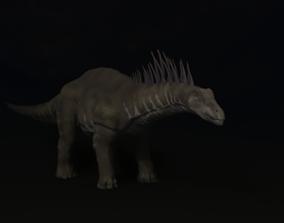 3D asset Amagasaurus