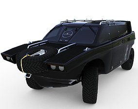 3D model DROZD AMRHIBIOUS