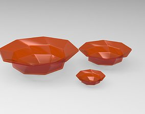 Glass Bowl Model GB2 Orange