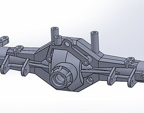 Axial AX10 Axle Set AX30488 Full Assembly 3D Printable 1