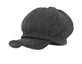 3D model Charcoal Gray Poor Boy Cap