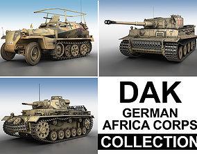 3D Deutsches Afrika Korps - DAK - Collection