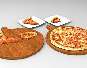 cheese 3d Tasty pizza pack