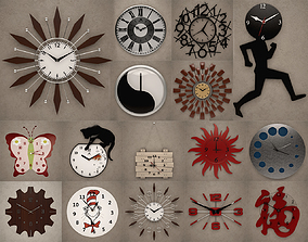 Wall Clocks decoration 3D model