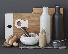 Kitchen set 17 3D model