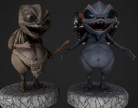 Thief goblin 3D model
