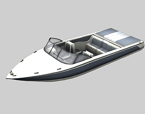 Ski Boat 3D model