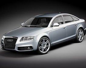 3D Audi A6 Sedan 2009