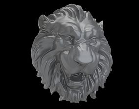 Medallion Lion head 3D printable model