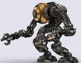 animated 3DRT - Mech robot engineer - 03