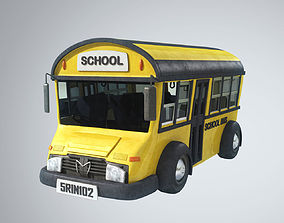 Cutie School Bus 3D model