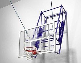3D model stadium Basketball Hoop