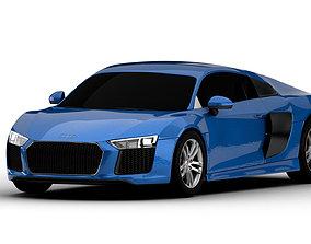 Audi R8 v10 3D