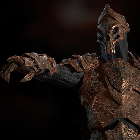 knight skeleton