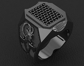 fashion man ring jewelry 16 3D print model