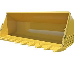 Front Loader Bucket 3D Model