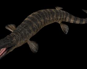Tylosaurus Asset Pack 3D model animated