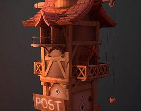 Post house 3D