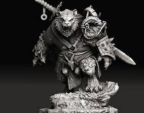 3D print model Tiger warrior
