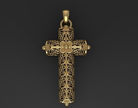 3D print model religious Openwork cross