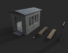 3D asset Guard Building