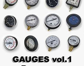 3D model Pressure Gauges collection vol1