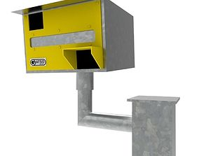 3D asset UK speed Camera