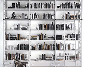 3D model Bookcase interior