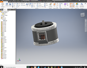 3D printable model Space Engineers Motor Component