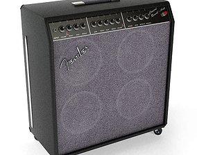 Concert Guitar Audio Amplifier 3D model