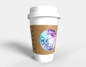 PBR Starbucks Coffee Cup - Customized 3D asset realtime