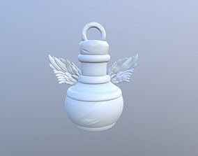 3D print model KeyChain Life Potion