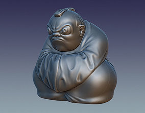 3D printable model PBR The Netsuke
