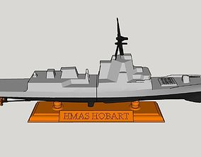 Hobart Class Destroyer Basic Desktop Model
