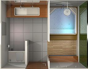 3D House Bathroom