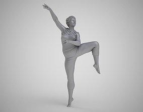 Modern Ballerina 3D printable model