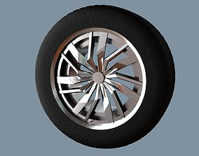 AS rims collection 4 - VW Osarno 3D asset